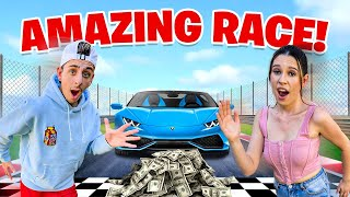 EXTREME $10,000 Race VS My Girlfriend - Challenge