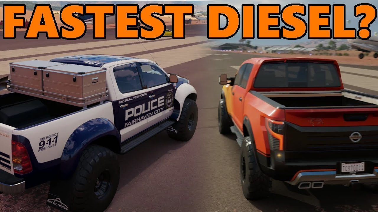 Fastest Diesel Truck >> Forza Horizon 3 What Is The Fastest Diesel Truck