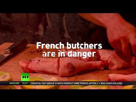 Vegan danger? French butchers claim being harassed by animal rights activists