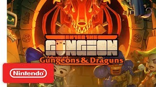 Enter the Gungeon: Advanced Gungeons & Draguns Expansion - Launch Trailer - Nintendo Switch