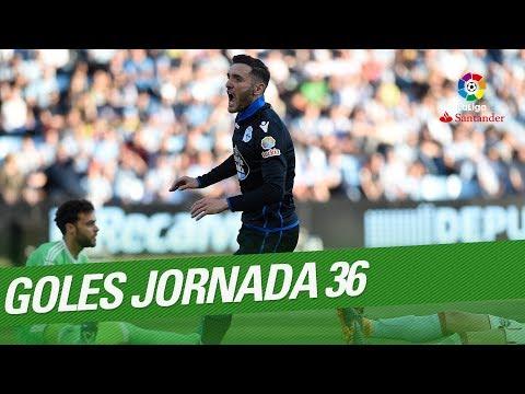 Todos los goles de la Jornada 36 de LaLiga Santander 2017/2018