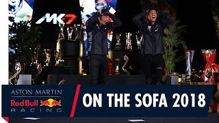 On The Sofa Cheers Dan | Join Max Verstappen and Daniel Ricciardo For One Last Time