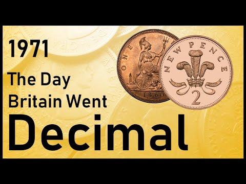 1971 - The Day Britain Went Decimal