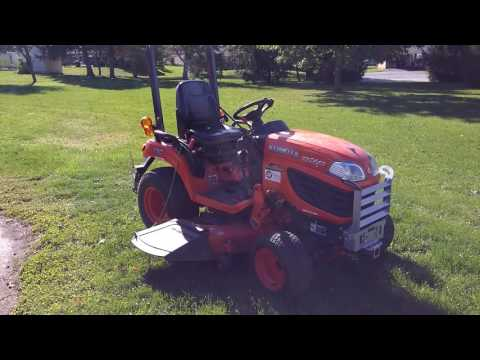 3 point hitch, kubota bx, land pride qh05, Dr trimmer