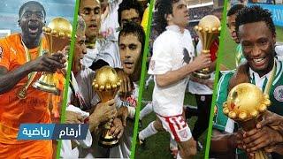 المنتخبات الفائزة بكأس أمم إفريقيا منذ بدايتها سنة 1957 إلى سنة 2015