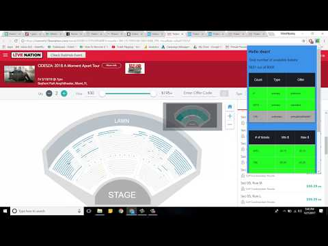 The Buying Tickets Process