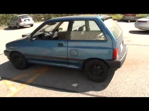 1990 FORD FESTIVA TRICKED OUT SCREWING AROUND