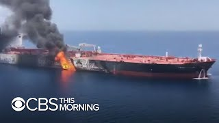 U.S. will release photos to persuade skeptical allies Iran is behind oil tanker attack