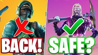 ARE EXCLUSIVE SKINS SAFE IN FORTNITE? (GeForce Nvidia Counterattack dans la boutique d'articles)