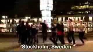 Мужик танцует башкирский танец :-D(Наша группа