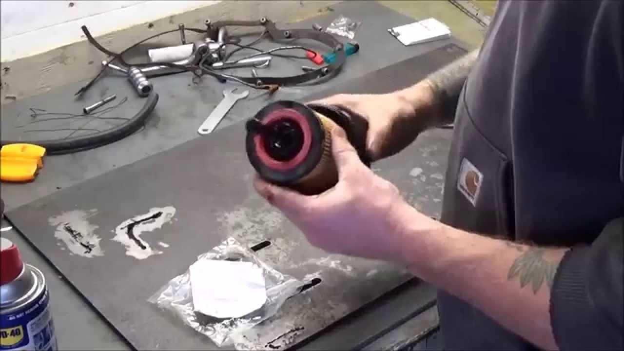 Hyundai 3.3 V6 Cartridge Style Oil Filter & Change - YouTube