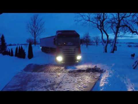 John Deere 6110MC vs Scania i biegający Karuś czyli rozdziewiczamy wagę ;) Kula
