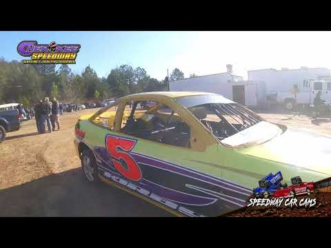 #5 Brooks Kirby - FWD - 1-26-20 Cherokee Speedway - In-Car Camera