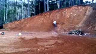 Cr250 cr80 riding the wall