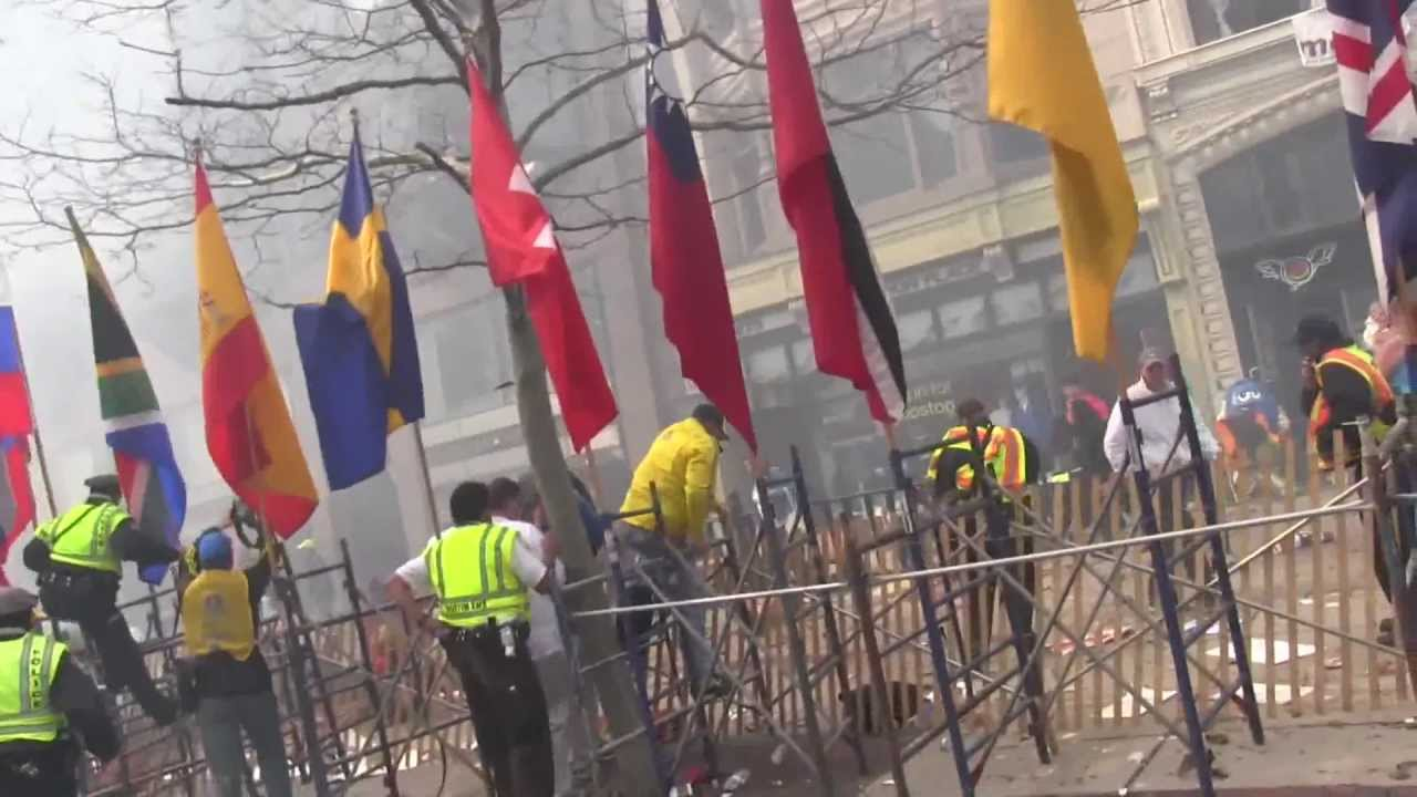 Download Explosions at the Boston Marathon