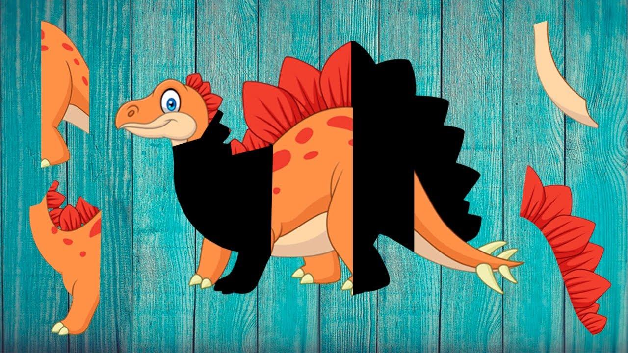 Juegos de Dinosaurios - Juegos para Niños - Dinosaur Puzzles