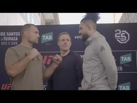 Fight Night Adelaide: Open Workout Faceoffs