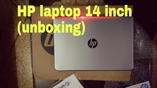 HP 14 inch laptop Core i3 5th Gen.(4 GB/1 TB HDD/Windows 10 Home) : Unboxing