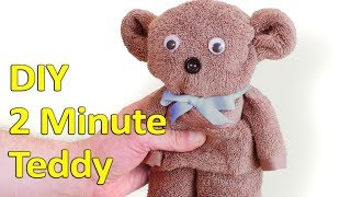 2 Minute DIY Teddy Bear
