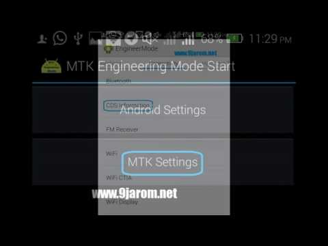How To Fix/Change Mtk IMEI Without Root Access