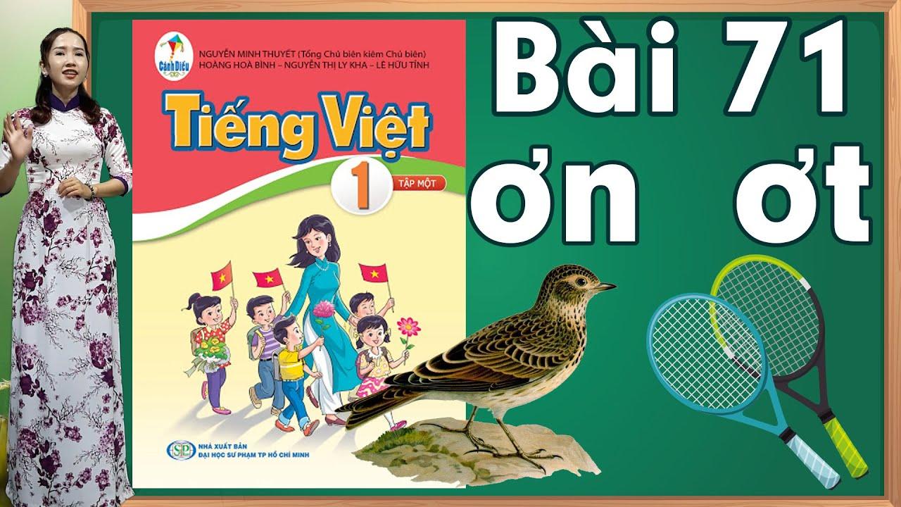 Tiếng việt lớp 1 sách cánh diều - Bài 71 |Bảng chữ cái tiếng việt |learn vietnamese