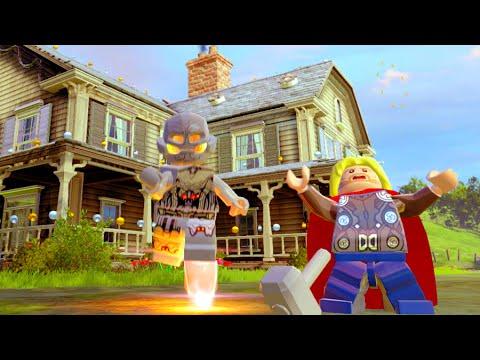 Lego Marvels Avengers Bartons Farm Hub All Character ...
