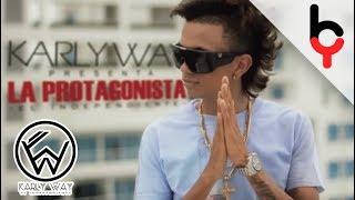 Karly Way - La Protagonista [Lyrics Video]