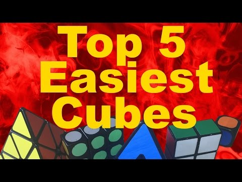 My Top 5 Easiest Rubik's Cubes!