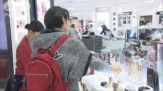 百貨店売上高、13.7%増 大都市圏で高い伸び(15/05/19)