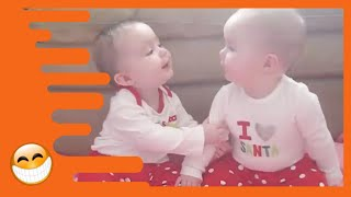 Twins Babies Make You Happy Everyday  -  Funny Awesome Videos