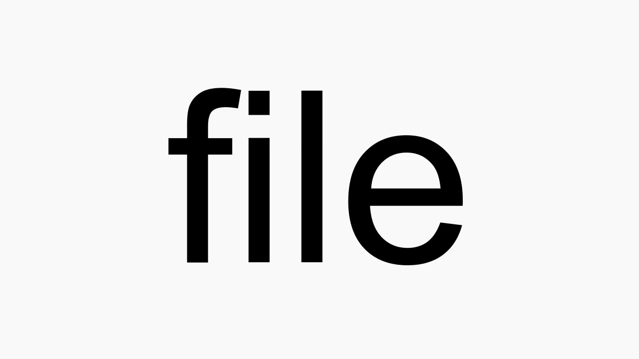 How to pronounce file
