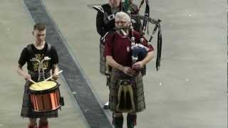 Highland Cathedral-rehearsal-Dutch Pipes and Drums Tilburg and the Antwerp Police Music Chapel