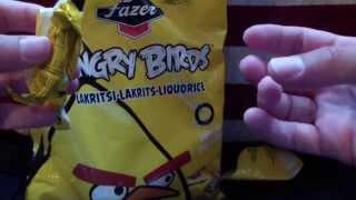 Angry Birds Candy Liquorice Pineapple Sticks