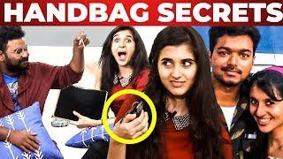 Thalapathy Vijay's Reel Sister Sanjana Handbag Secrets Revealed by Ashiq | What's Inside the HANDBAG