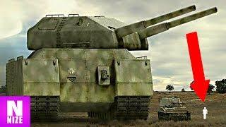 Die Größten Militär Fahrzeuge Aller Zeiten
