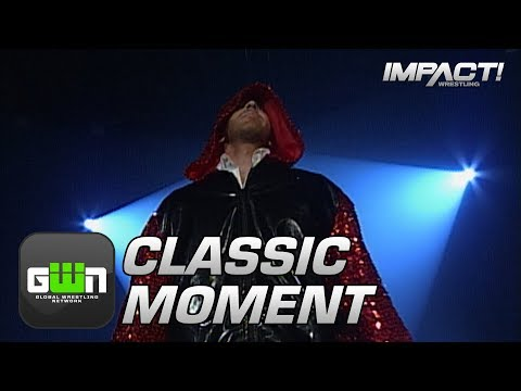 Christian Cage Debuts at TNA Genesis 2005 | Classic IMPACT Wrestling Moments