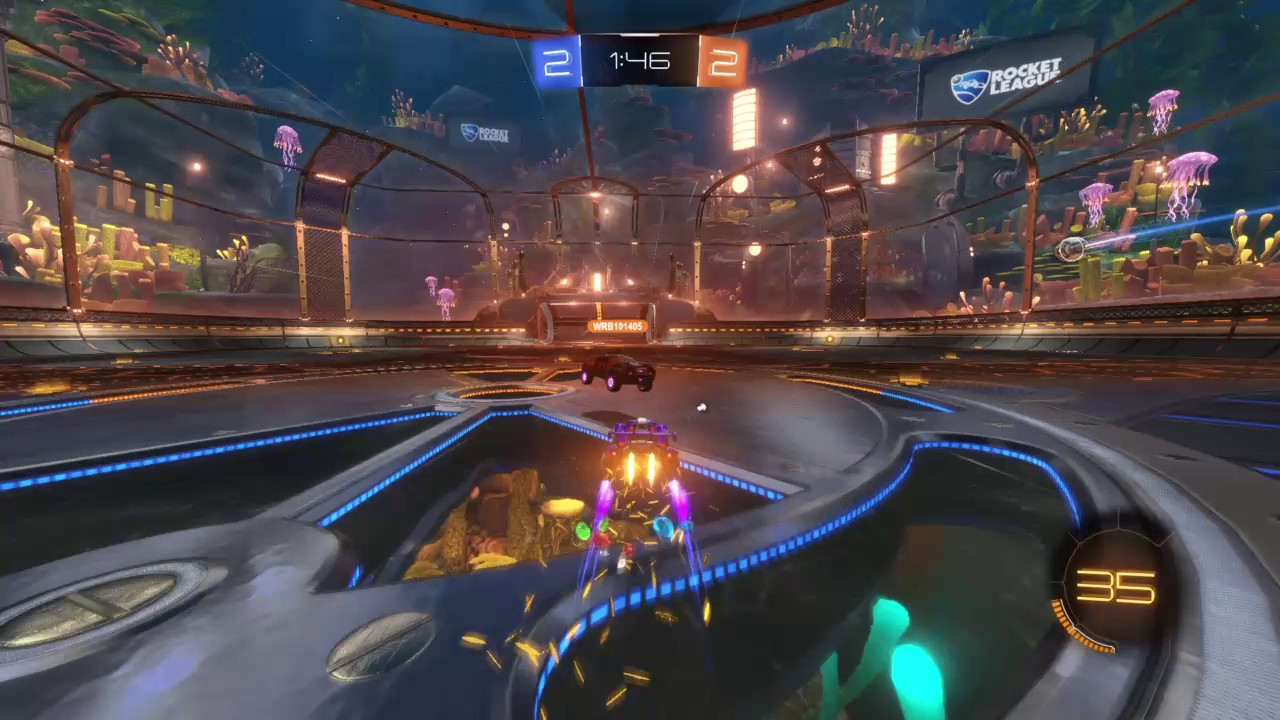 Rocket League - Demo on the counter attack