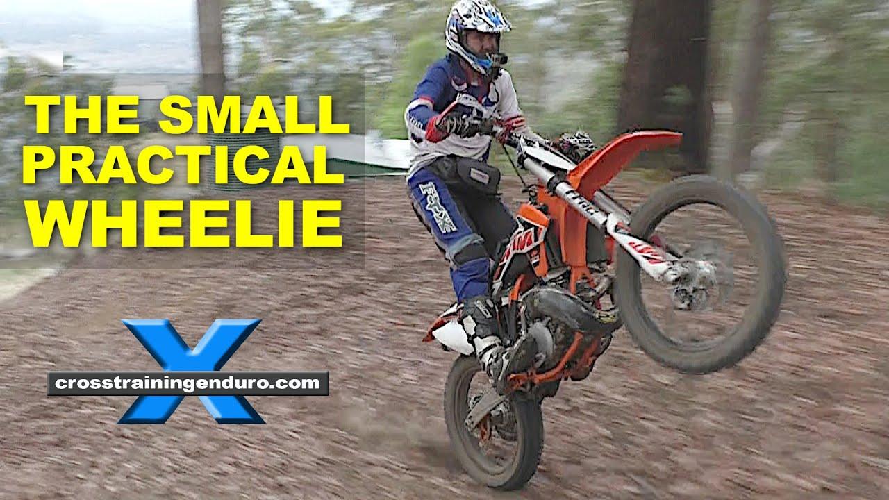 wheelie enduro cross training skills dirt bikes
