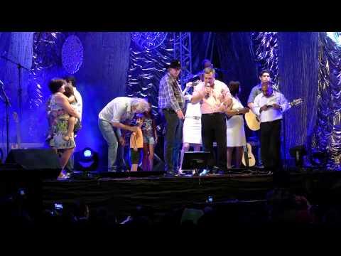Show com Sergio Reis e Renato teixera de aniversário de Apucarana 70anos