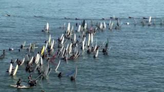 Andy Irons Memorial Paddleout - Huntington Beach 2010