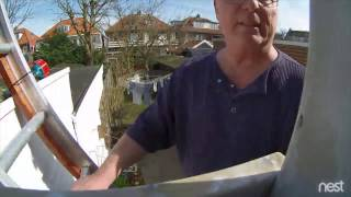 Nest Buitencamera uitpakken en installeren in de achtertuin
