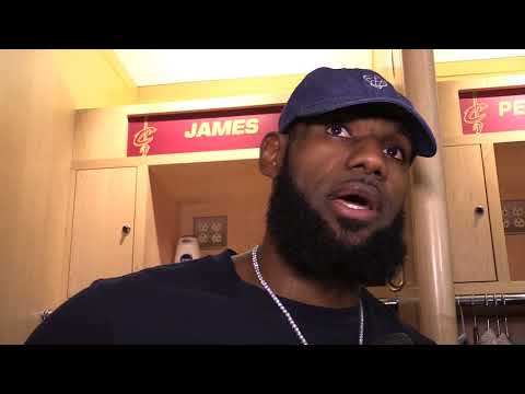 LeBron James on Kevin Love's impact in Cavs win over Bucks