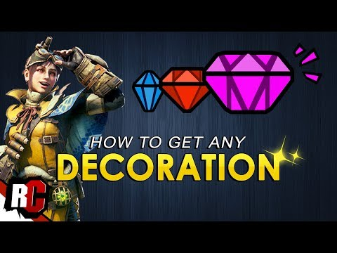 Melding Exploit / How to get the Best DECORATIONS  | Monster Hunter World (Sniping Decorations)