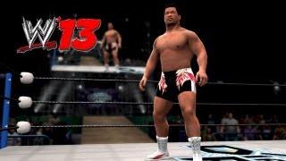 WWE'13(XBOX360版)で作成。WWE'13 CAW Kensuke Sasaki.