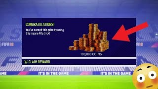 Make 100,000 FIFA COINS for FREE using this FIFA TRICK! (FIFA 18)