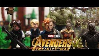 Avengers: Infinity War Trailer in LEGO! (Side-by-Side)