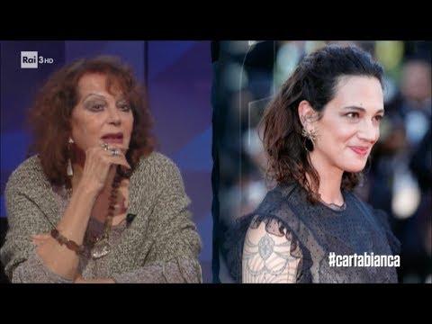 Claudia Cardinale - #cartabianca 07/11/2017
