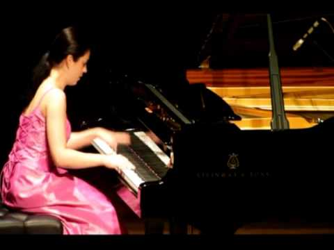Esther Birringer   Brahms  Variations on a Theme of Paganini op. 35 Book I Part 1 - Live