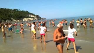 Parco degli Ulivi  Peschici 2014 spiaggia video 6