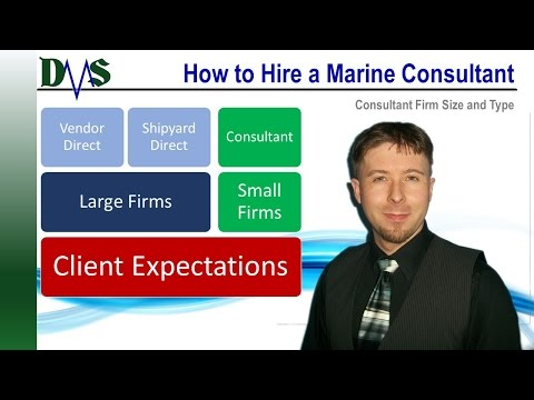 Marine Consultant Firm Size:  Four Things to Consider
